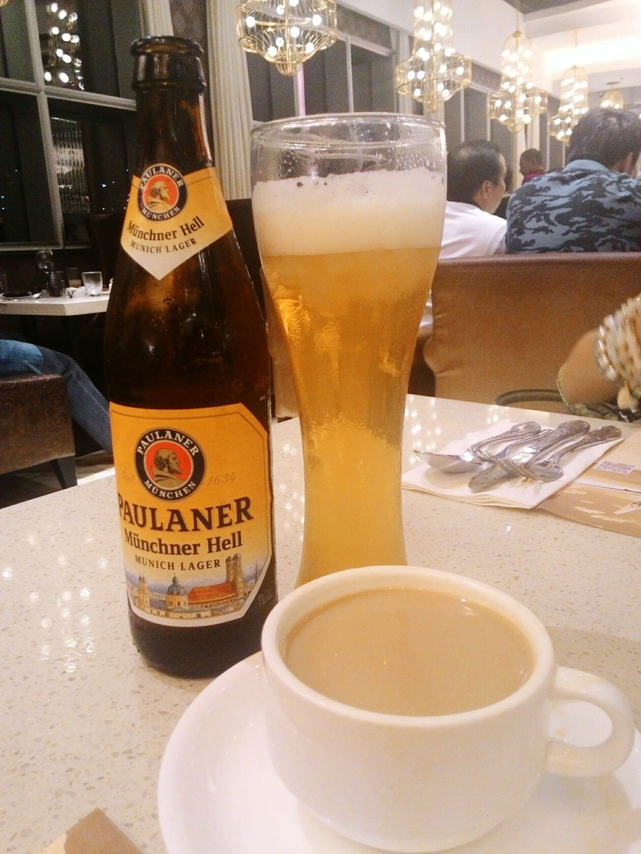 Showcase: December Good Cheers to this yuletide season! Beer and coffee perfect harmony Looksweirdtastesamazing Beerandcoffee Simplechristmasparty Niubyvikingsatsmaura Morefuninthephilippines