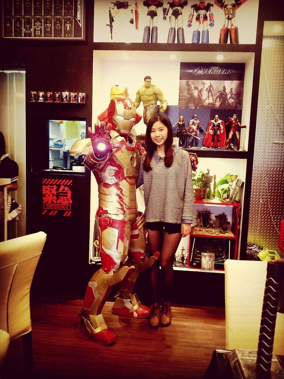 還有超惡男子,超開心 That's Me Enjoying Life Robot Iron Man 3