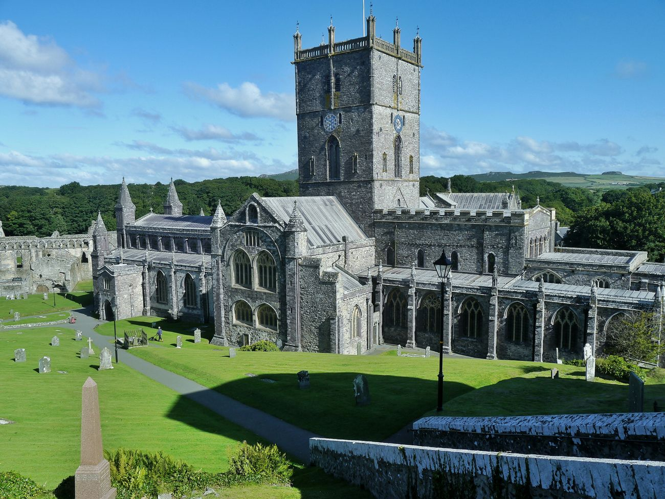 Cathedral Wales St David's Pembrokeshire