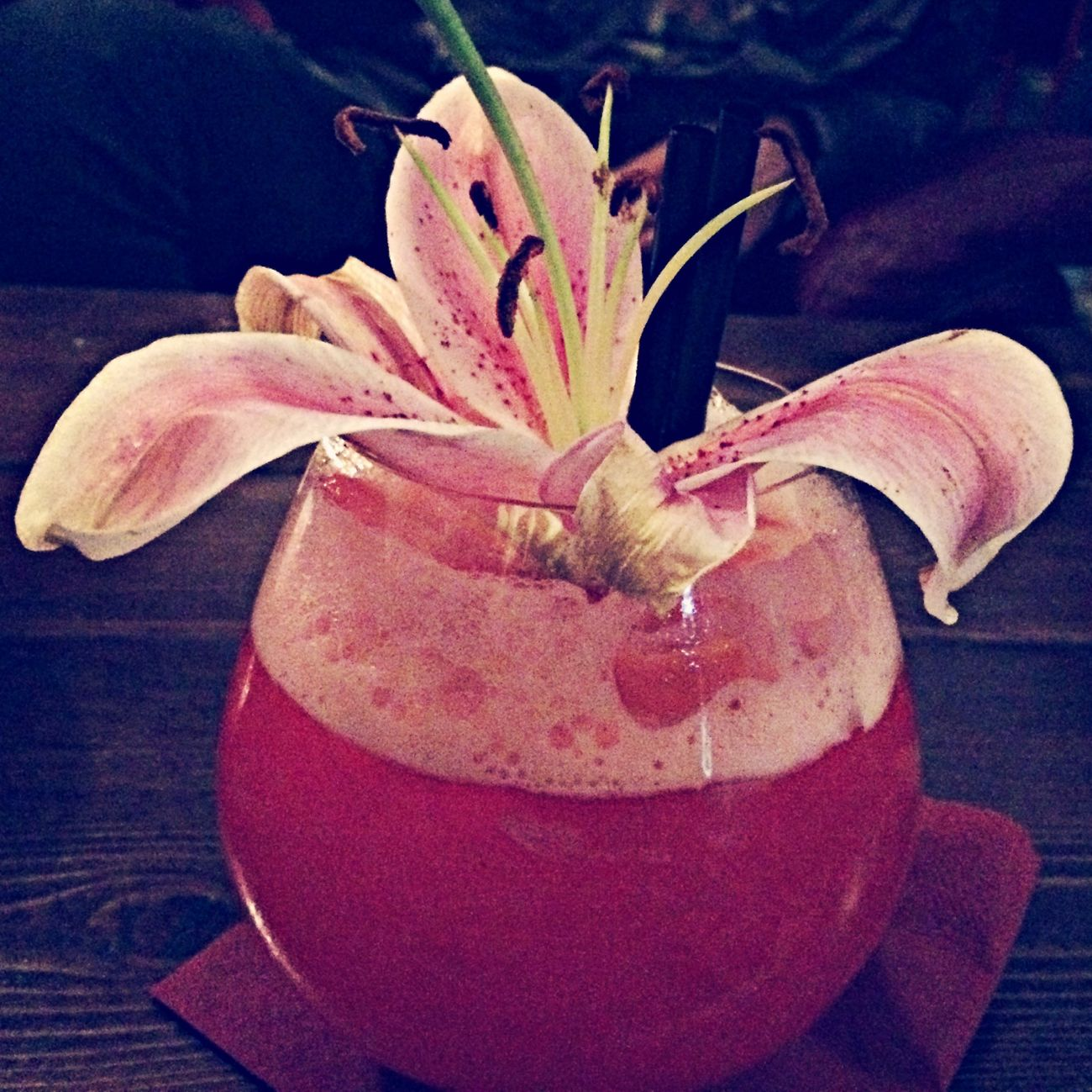 Drink Flowers Sweet Delicious