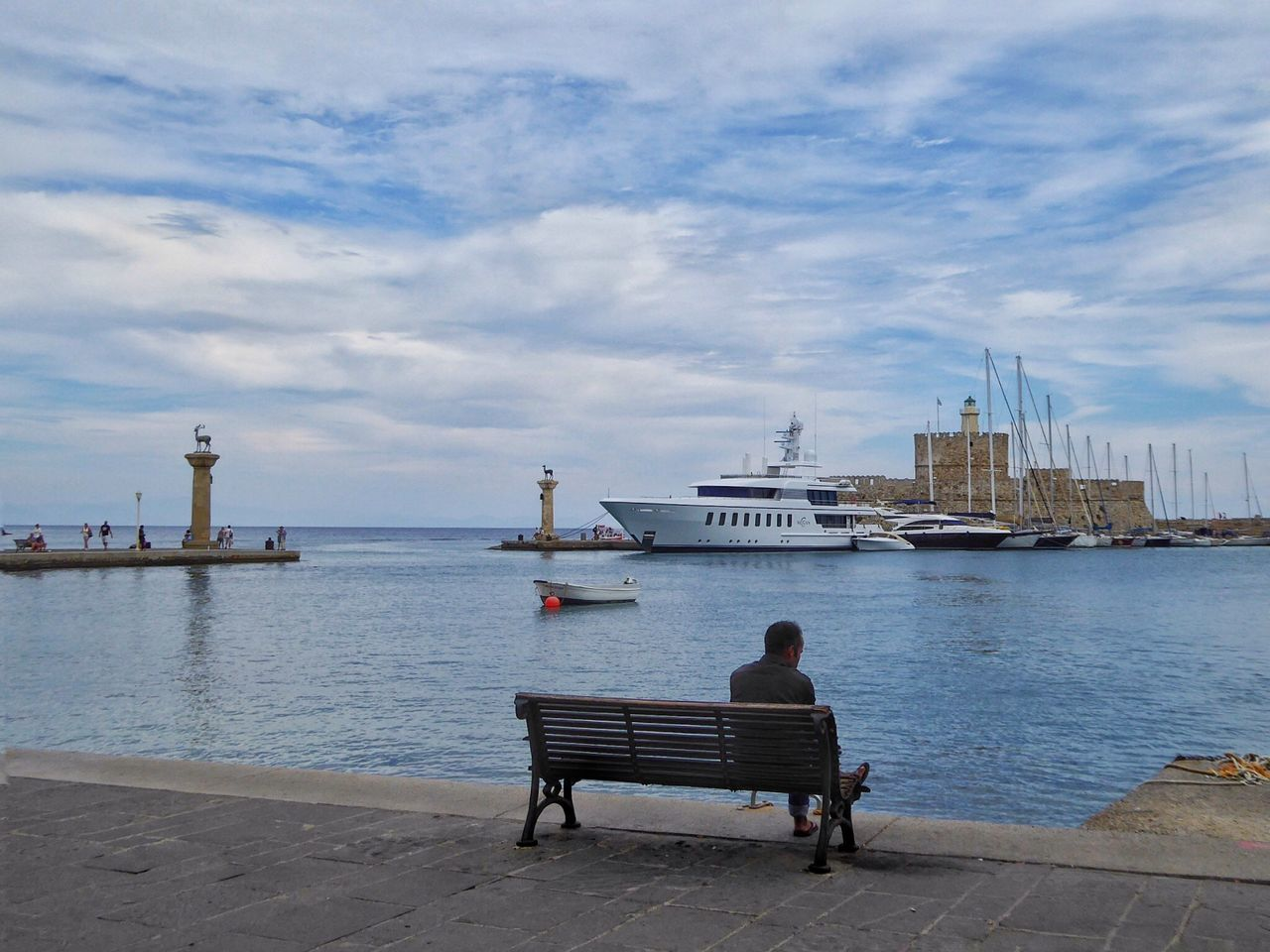 Rhodos Rhodos, Greece  Ródos Rodos Greece Greece GREECE ♥♥ Rhodes Rhodes Greece Harbour Harbour View