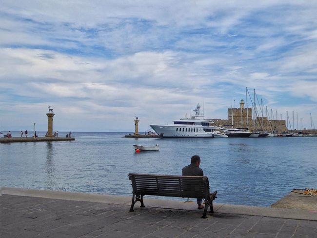 Rhodos Rhodos, Greece  Ródos Rodos Greece Greece GREECE ♥♥ Rhodes Rhodes Greece Harbour Harbour View