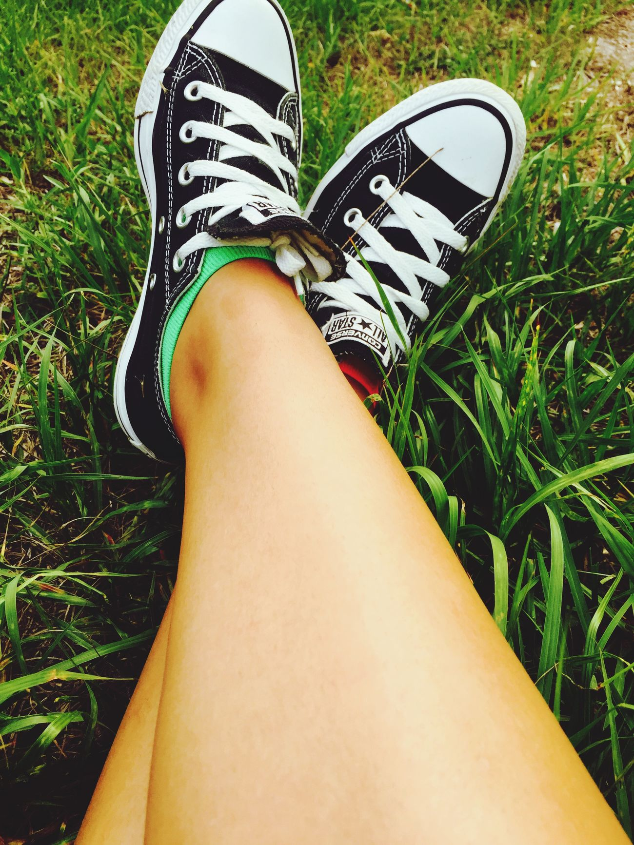 🌾 Legs Grass Nature Shoes Colorful Socks Hello World Hanging Out Relaxing Taking Photos Enjoying Life