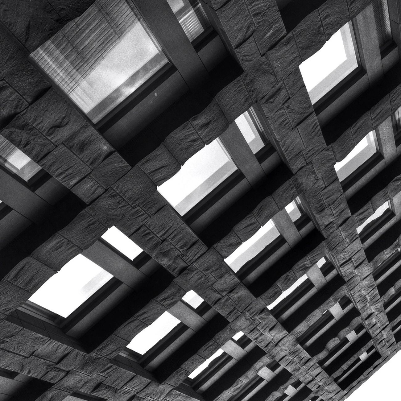 AMPt - Vanishing Point Architecture Perpective Blackandwhite