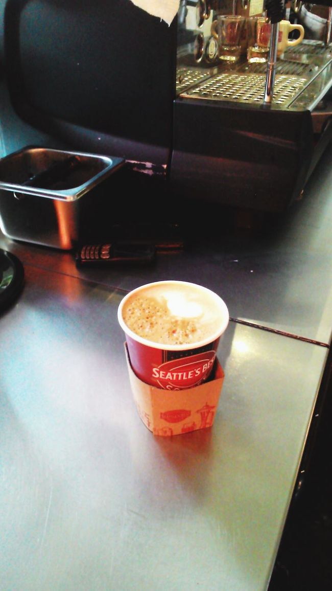 Latteart Coffee ☕ Smile ✌ Baristaboy