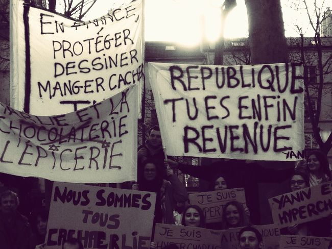 Paris 11janvier2015 Jesuischarlie Freedom Liberté Republique Republic