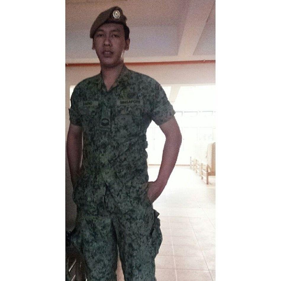 A guardsman will always be a guardsman.. Reservist 735guards Charliecoy Platoon8 platoonrunner
