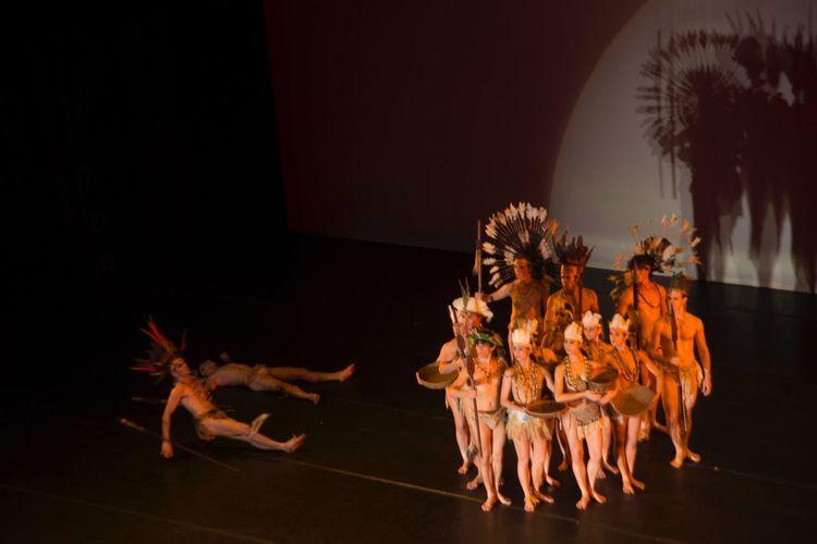 Ballet Stagium - Kuarup - Celebrating 40 years Kuarup Ballet Stagium Dance Ballet EyeEm Selects Indoors  Night No People