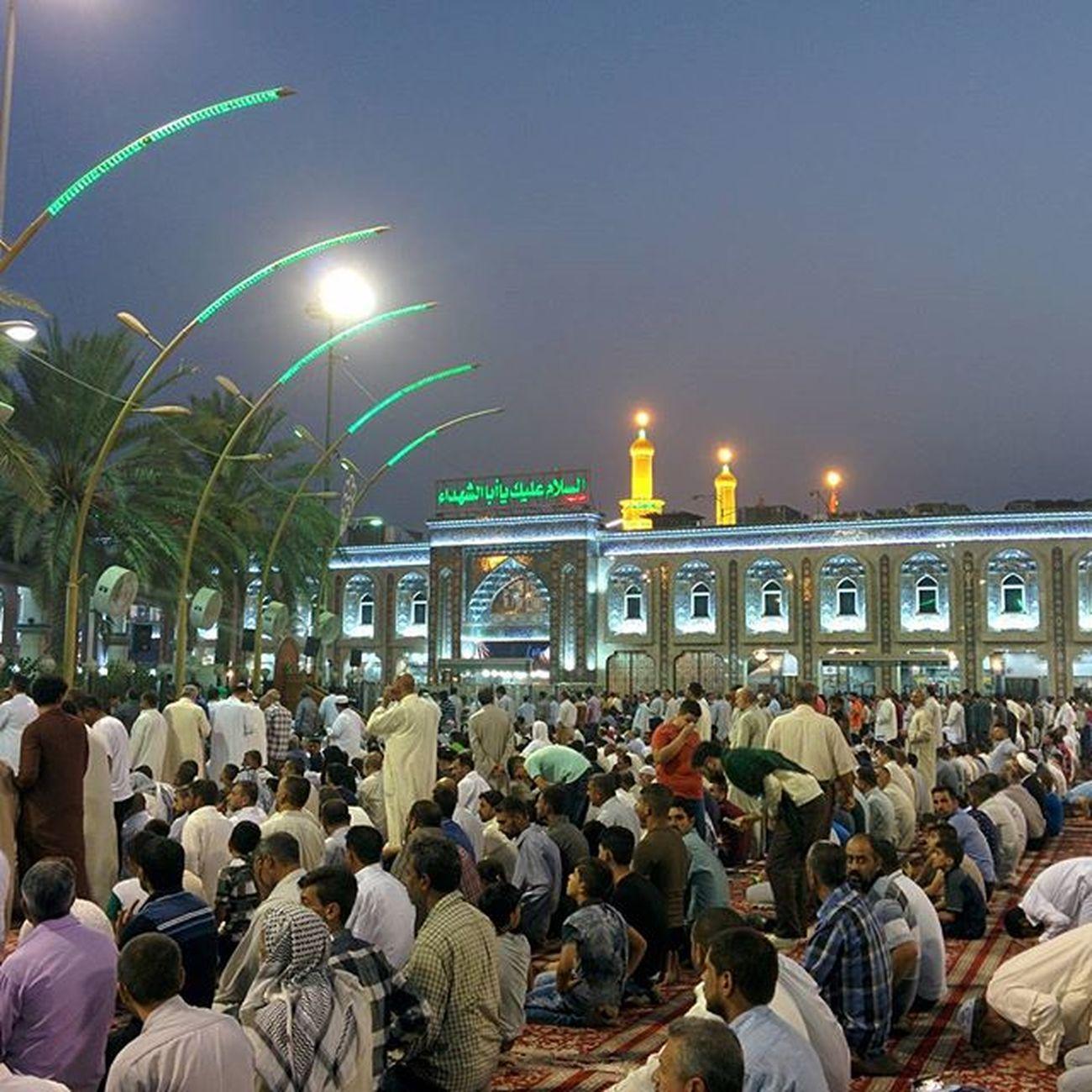 Piece of Heaven. Iraq Krabala Shia Imam Hussain Shrine Pray Prayer Prayers Nexus5 Nexus_nation Unedited