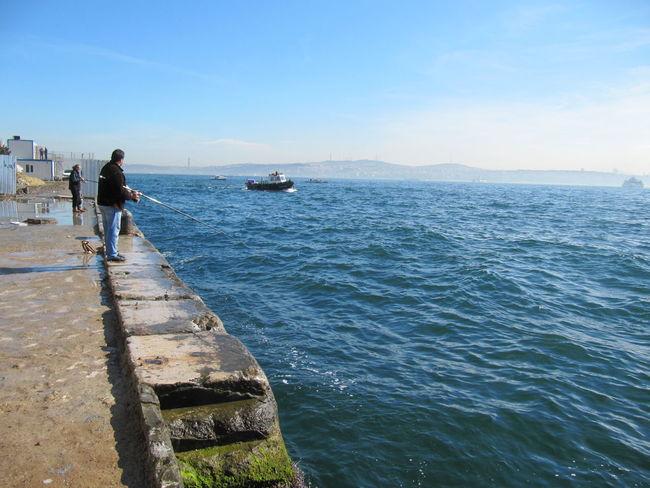 Bosphorus, Istanbul Bósforo Day Istanbul Marmara Sea Sea See Water Waves