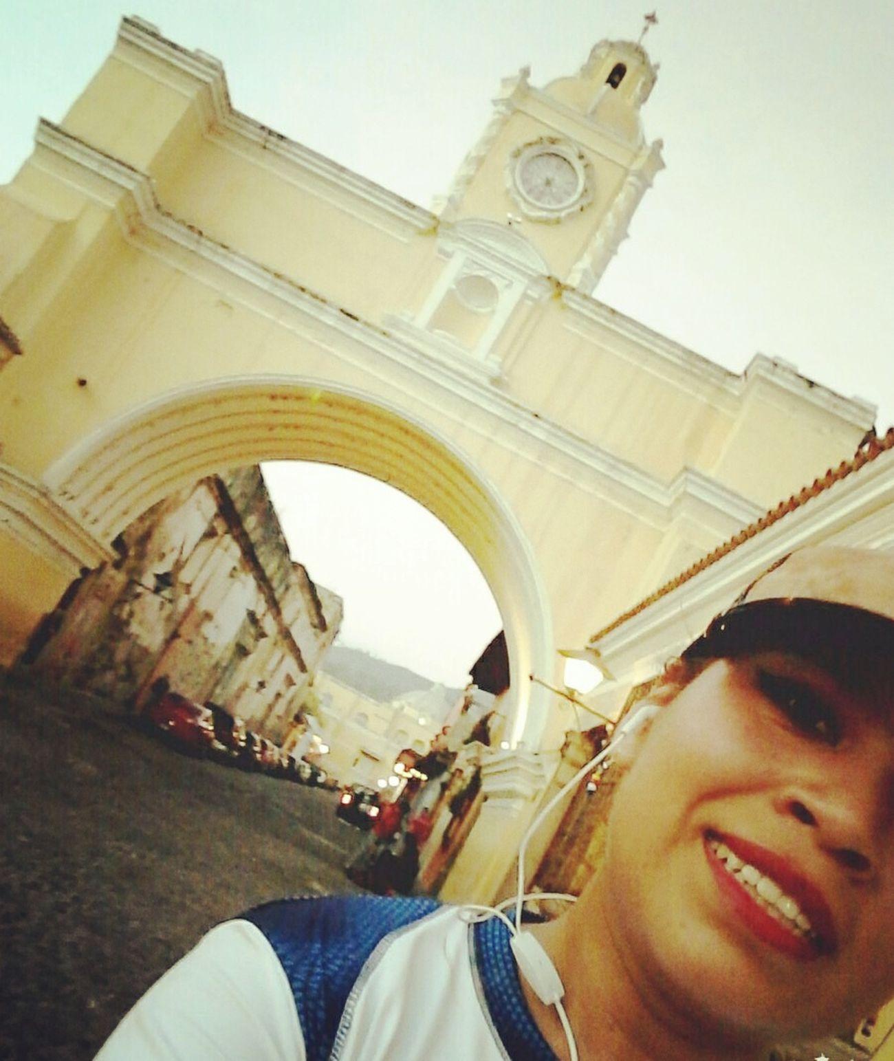 Entreno en tierra Sagrada ✋💫💞 La mía..la nuestra 👊💪💙 AntiguaGuatemala! ❤
