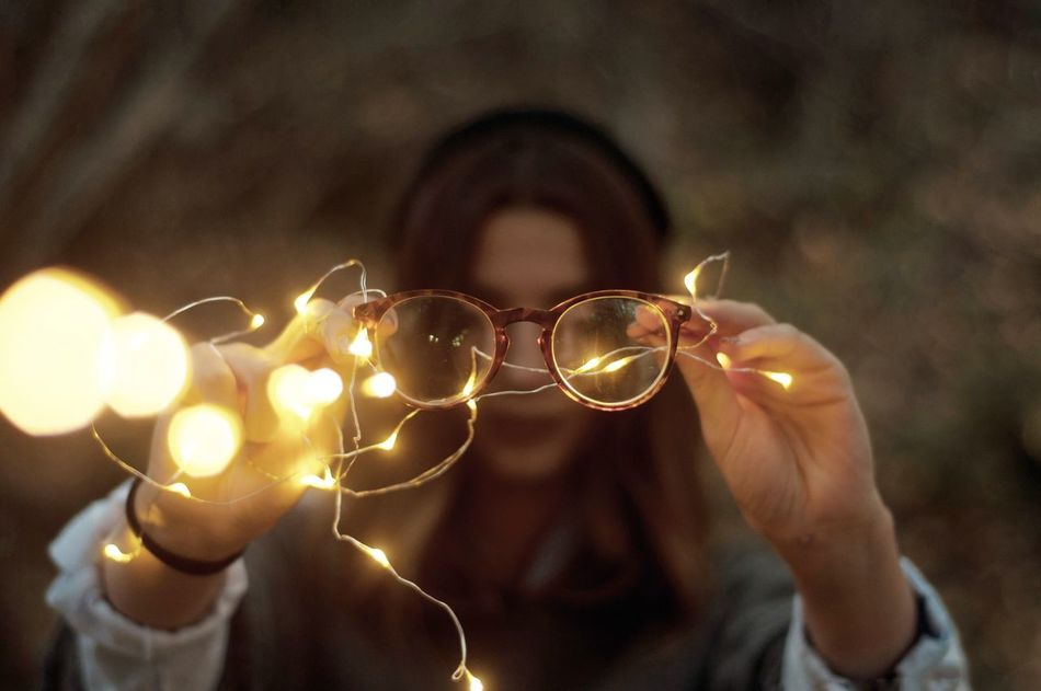 Beautiful stock photos of millennials,  20-24 Years,  Adult,  Adults Only,  Chain Of Lights