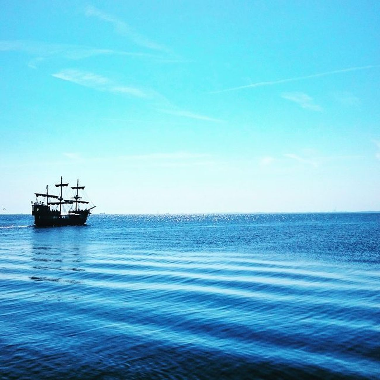 Gdynia Sea Holiday2015 Sun Boat Water Blue Sky
