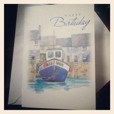 Birthdaycard 20th Happy