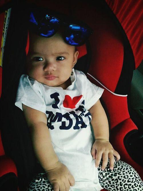 heee . she so cute :*