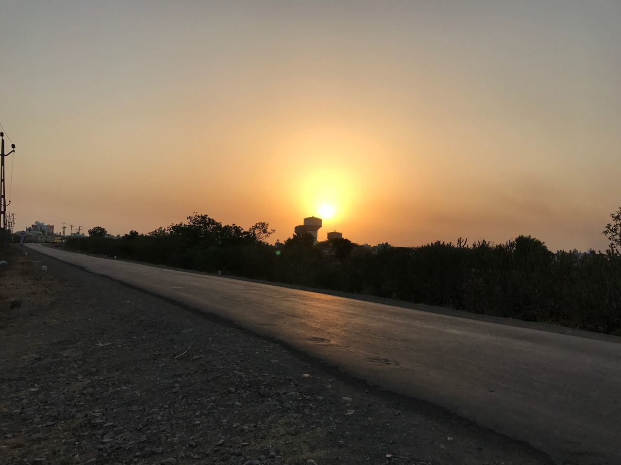 Click On IPhone 7 EyeEmNewHere Road Without Edit ^^ EyeEmNewHere