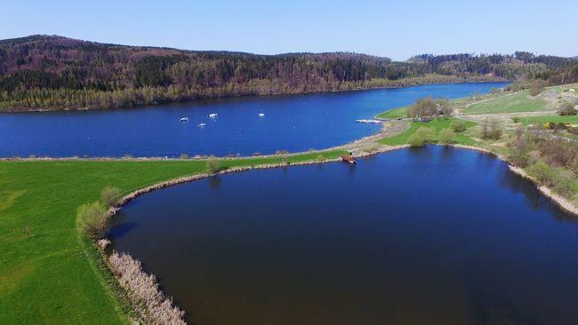 A beautiful day by the lake. Dji DJI Phantom 3 Advanced Flying Lake Pond Beautiful Nature
