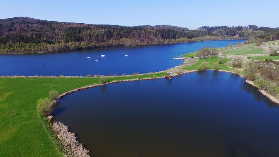 A beautiful day by the lake. Dji DJI Phantom 3 Advanced Flying Lake Pond Beautiful Nature