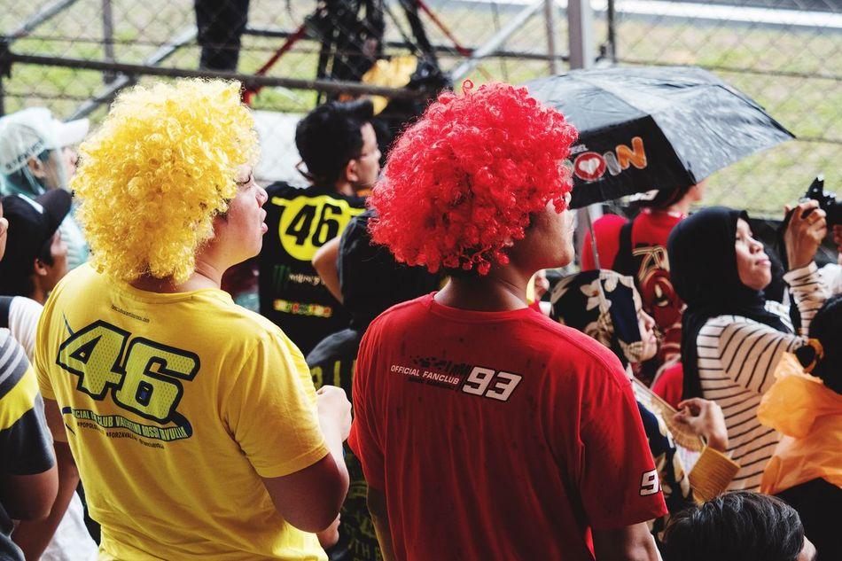 True Friendship ! Rossi Marquez 46 93 MotoGP2016 Sepang Sepang International Circuit Spectators Great Performance Great Atmosphere