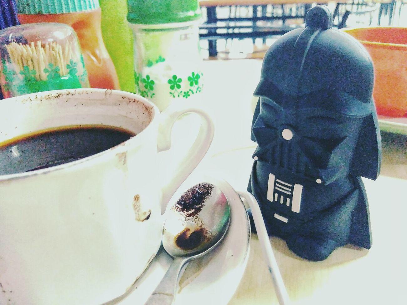 Dark Roast for the Dark Side. Happy Starwars day, MayThe4thBeWithYou - Foodporn Indonesian Coffee Foodtography