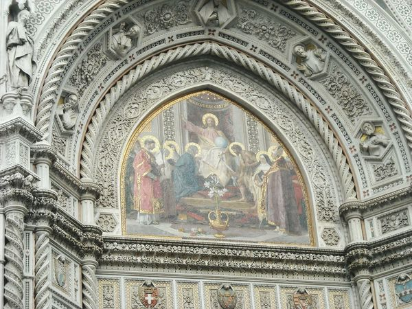 Design Old Buildings Old City Building Florence Architecture Medieval Europe Duomo Florence Stucture Church Dome Facades Statue Amazing Architecture Reinessance Italy❤️ Duomo Di Firenze Catholic Church Painting Fresco Religious Architecture Cathedral