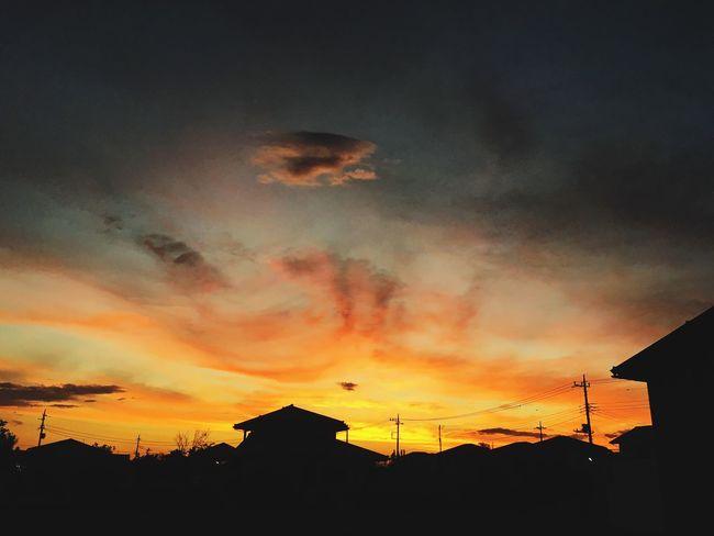 Enjoying Life Japan Beautiful Sky 黄昏 夕暮れ