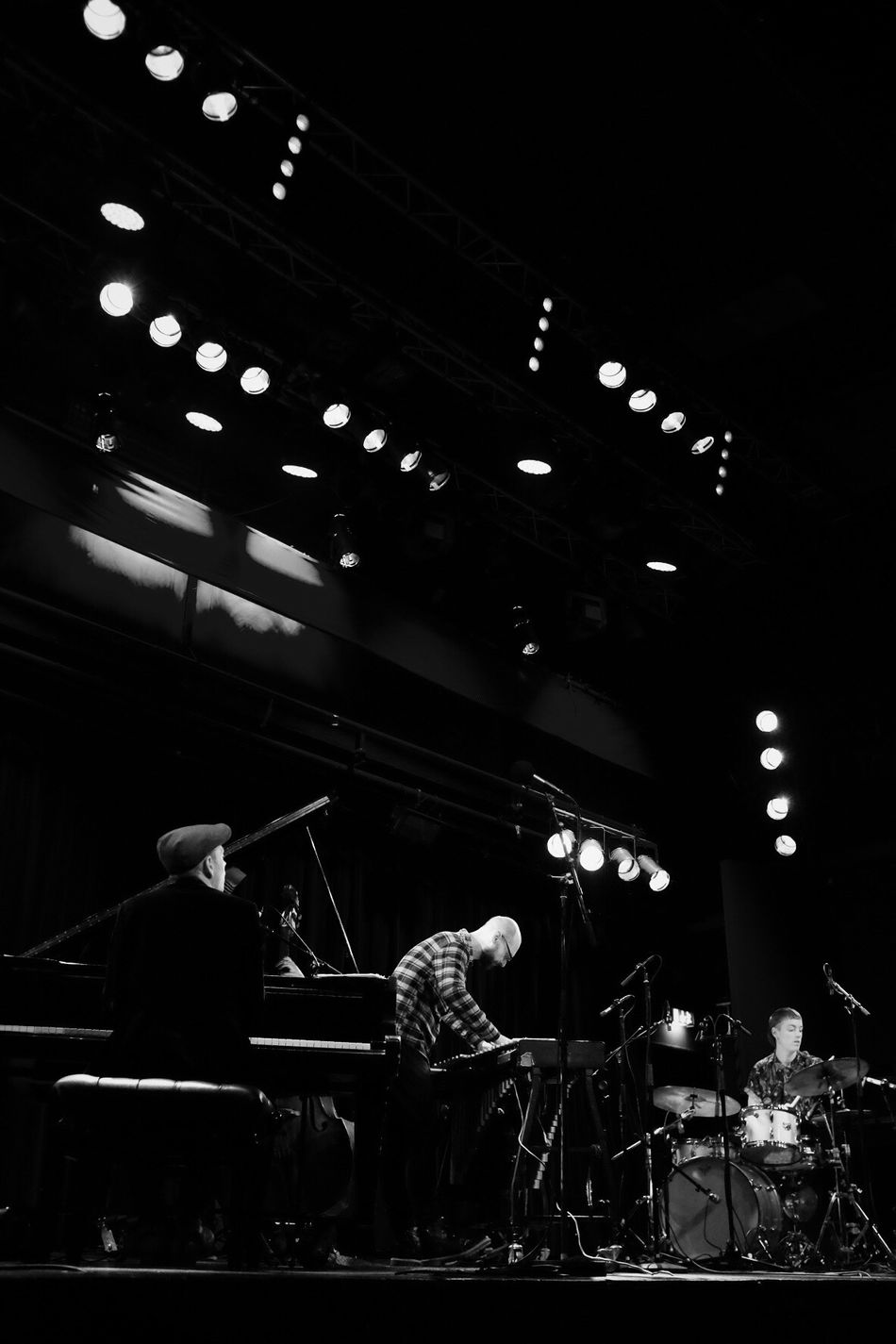 Music Arts Culture And Entertainment Musician Performance Jazz Monochrome Black And White Bw_collection Low Angle View