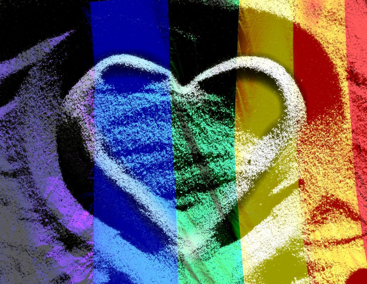 Capturing Freedom Freedom Love Free To Be Me Heart Gay Pride Carved In Sand Colours Rainbow Flag