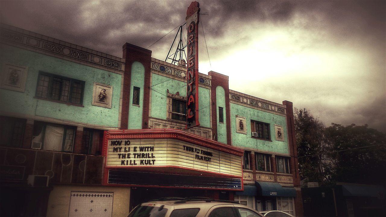Theatre Theatres  Oriental Denver Denver Colorado  . Denver,CO Denvertography Old Glory