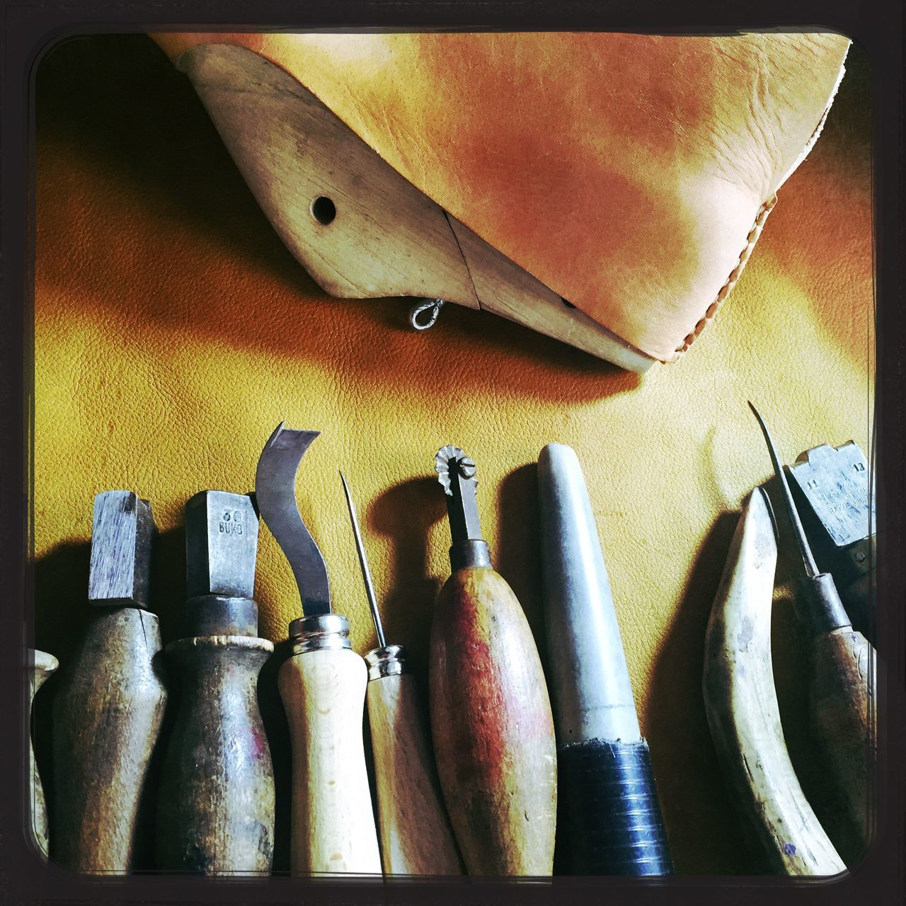 Shoemaker Shoemaking Tools Leather