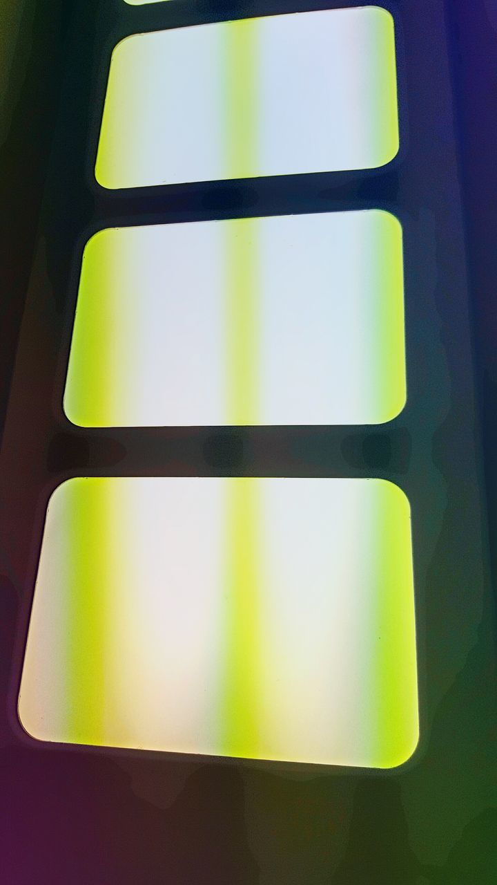 low angle view, no people, close-up, indoors, yellow, day
