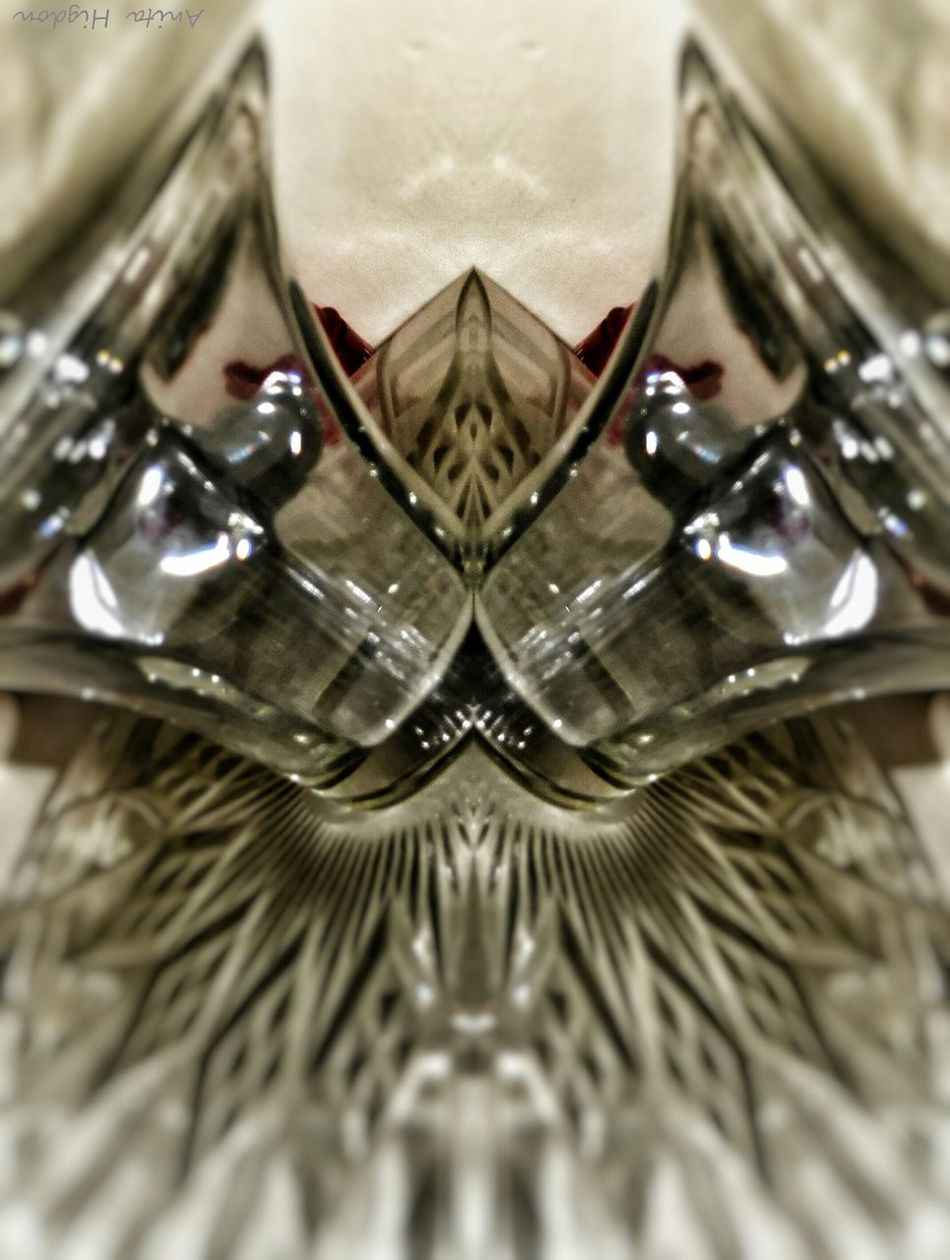 Phoenix of Glass Crystal Cake Plate Mirrored Image Still Life Looking For Inspiration
