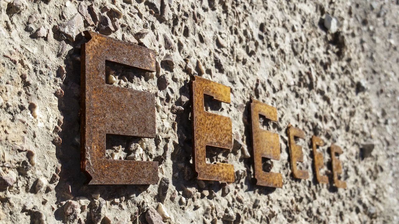 Sequence Shot Sequence Iron Metal Metallic Letter Letters Floor Stones Textures And Surfaces Big Letters E Stone Stone Material Stonework Art Art, Drawing, Creativity ArtWork Material Materials Art Gallery Artistic Photo Artistic Expression Perspective Personal Perspective