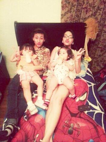 Babysitting these cutiessss. ^.^