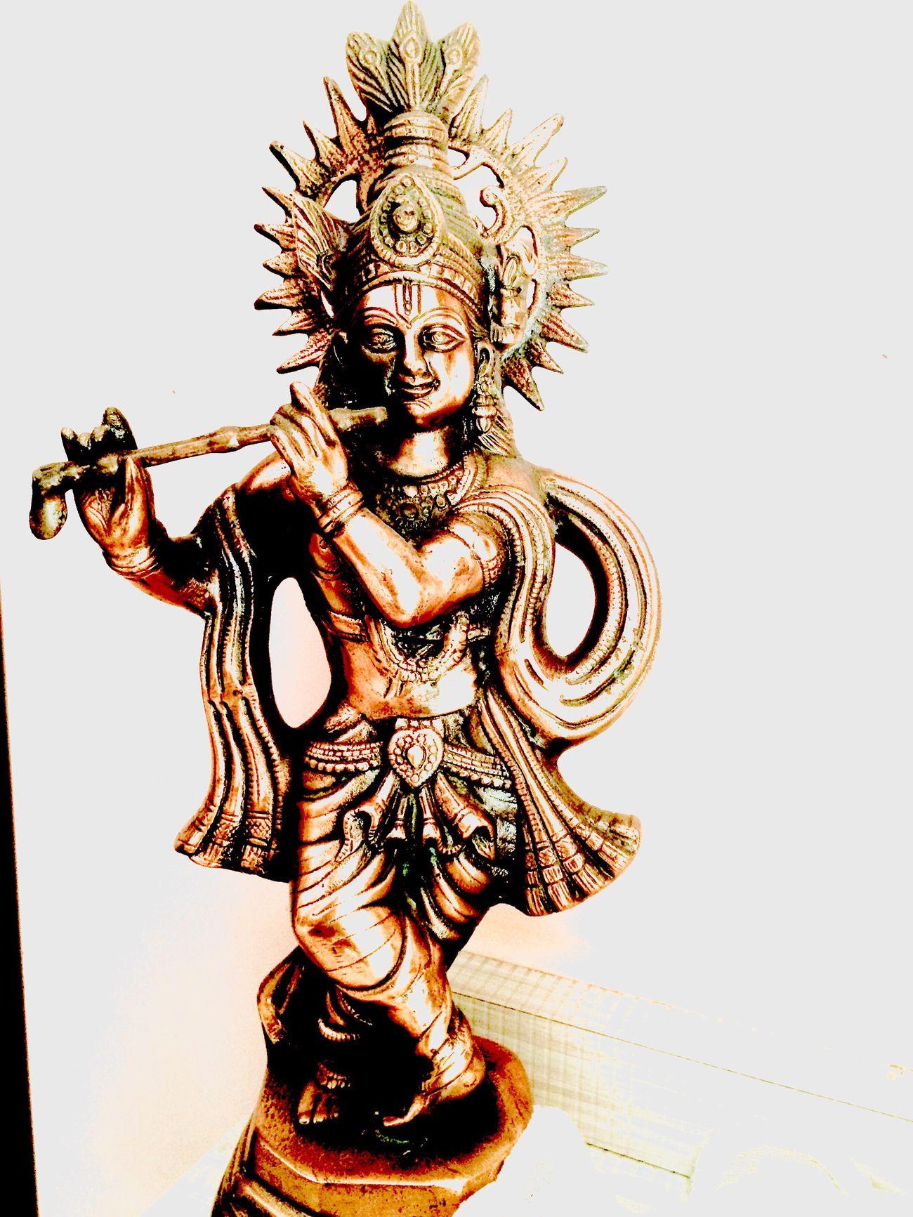 Lord krishna Statue Indoors  Sculpture Janmashtami