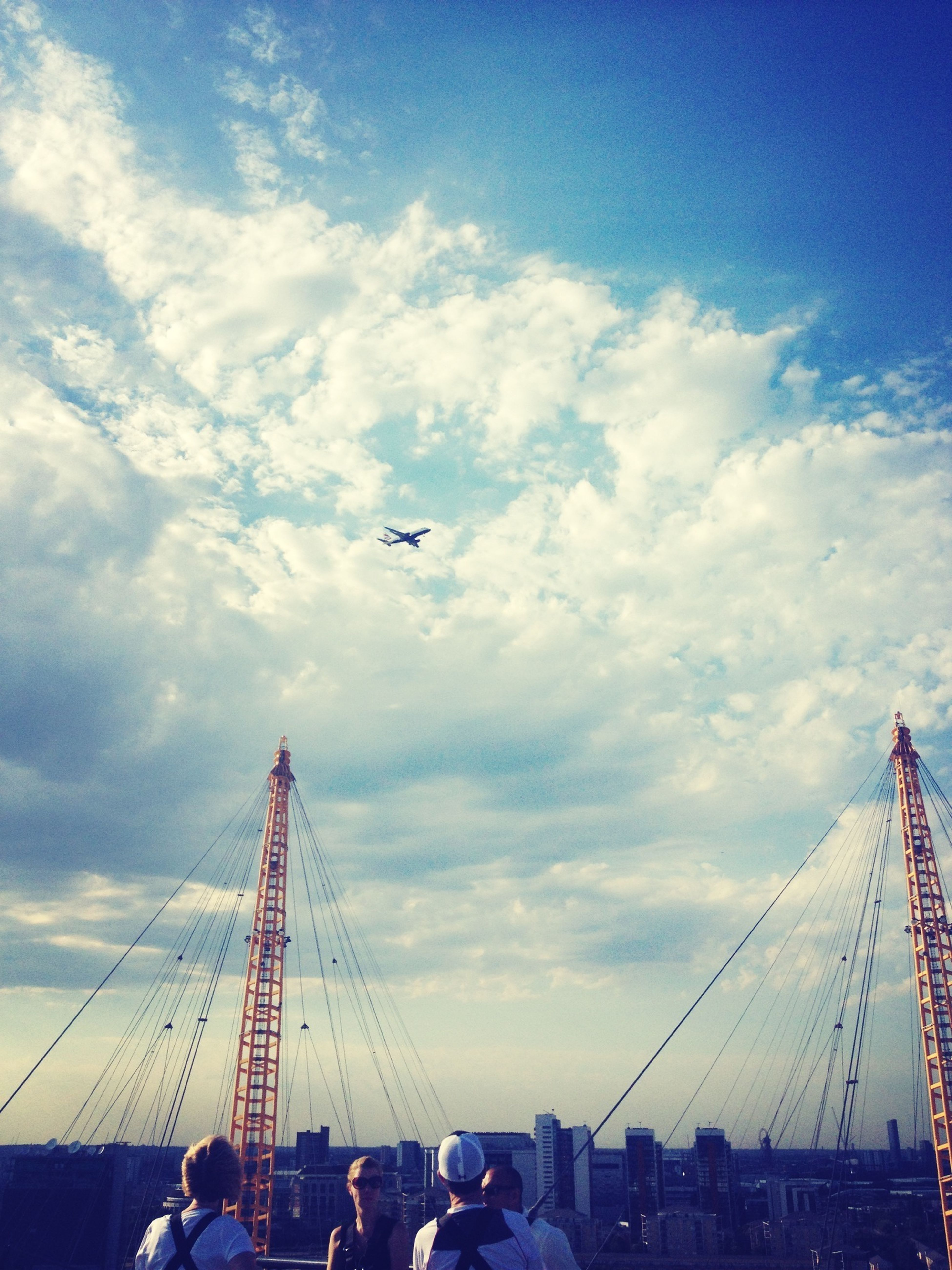 veiw from o2 Arena! Sky_collection