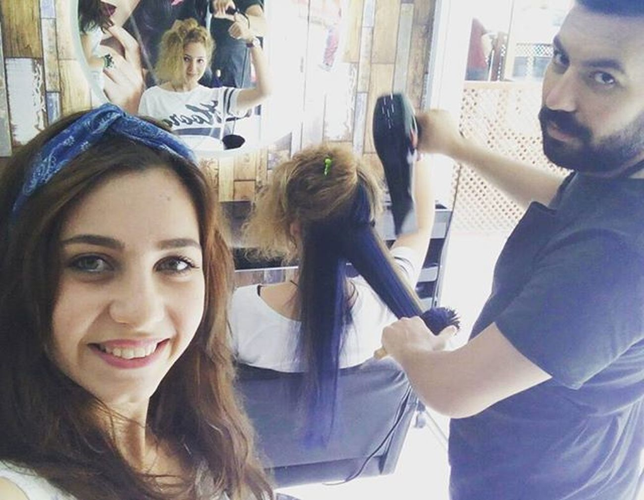 Woman Hairdresser Hairstyle Hair Hairstylist Haircolor Blue Coiffure Girls And Man Salonizmir Saçtasarım