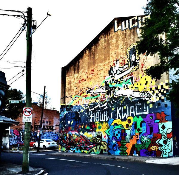 Newtown. Streetphotography Streetart Urban Landscape Walking Around Check This Out Graffiti Art Street Street Photography Landscape