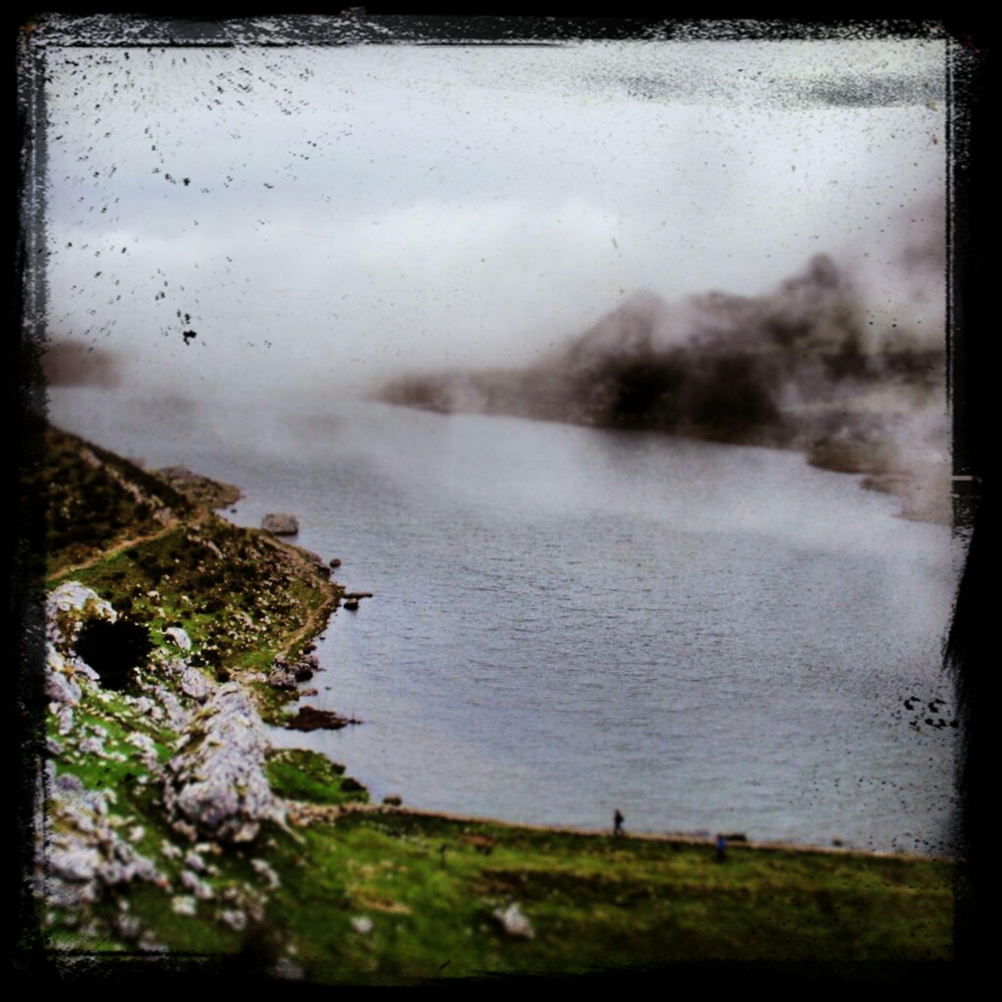 Loch Ercina Water Landscape Foggy EyeEm Nature Lover