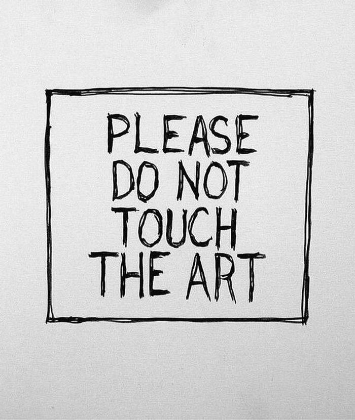 Por favor, não toque a art. Frist Time On EyeEm Tirinhas