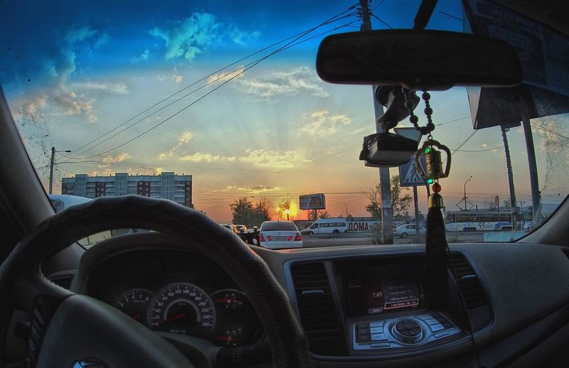One Of Those Precious Moments Ulan-Ude Buryatia Sunset Capture The Moment Glitch
