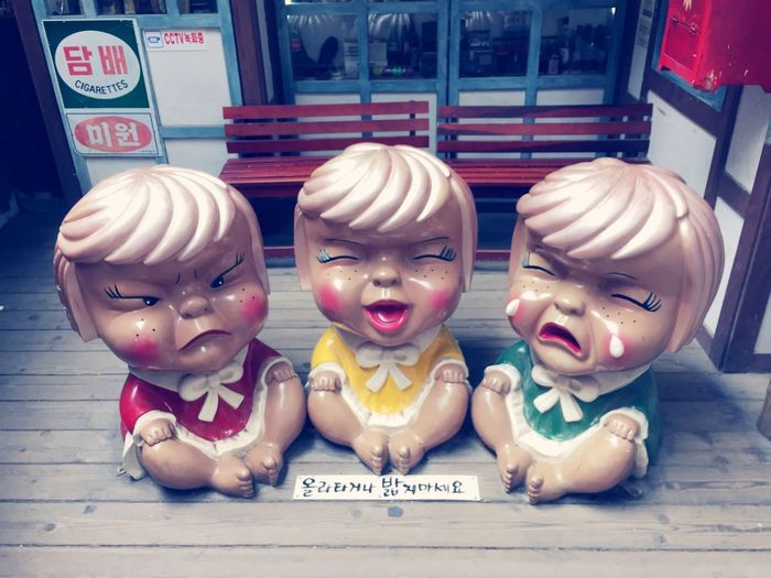 Happy Dolls My Sight Traveling Korea Cute