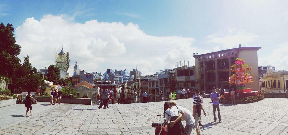 Macau Scenery Clouds