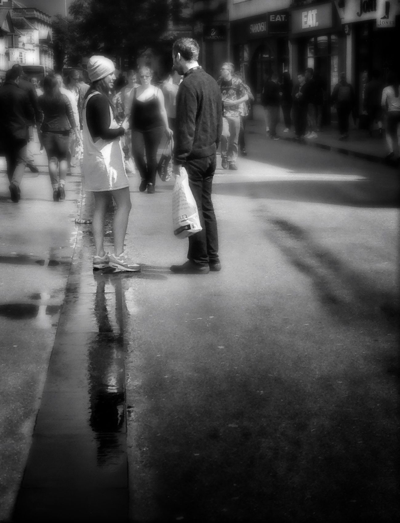 Oxford Streets | 2 NEM Street NEM Black&white