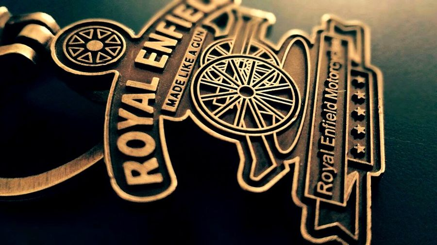 Royal Enfield key chain Royal Enfield Royal Enfield Keychain History Ancient No People Close-up Indoors  Astrology Sign Day