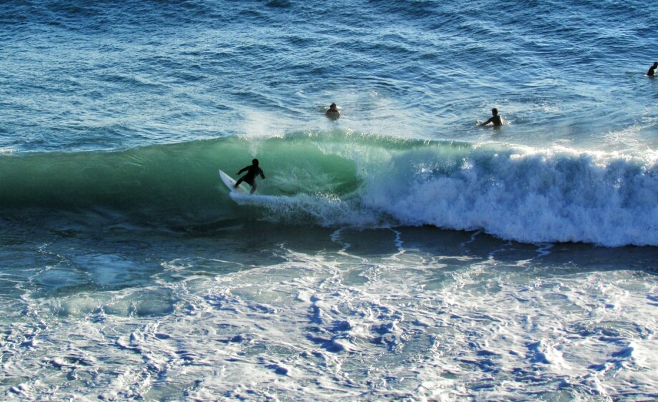 sea italy surfing waves simplicity eye4enchanting EE_Daily: Blue Friday by Simodenegri