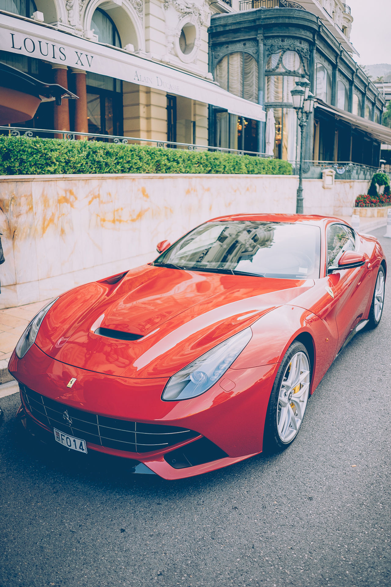 Architecture Auto Racing Car Competition Day FerrariF12  Formula One Racing Monaco Motorsport No People Outdoors Racecar Red Sports Race Tire