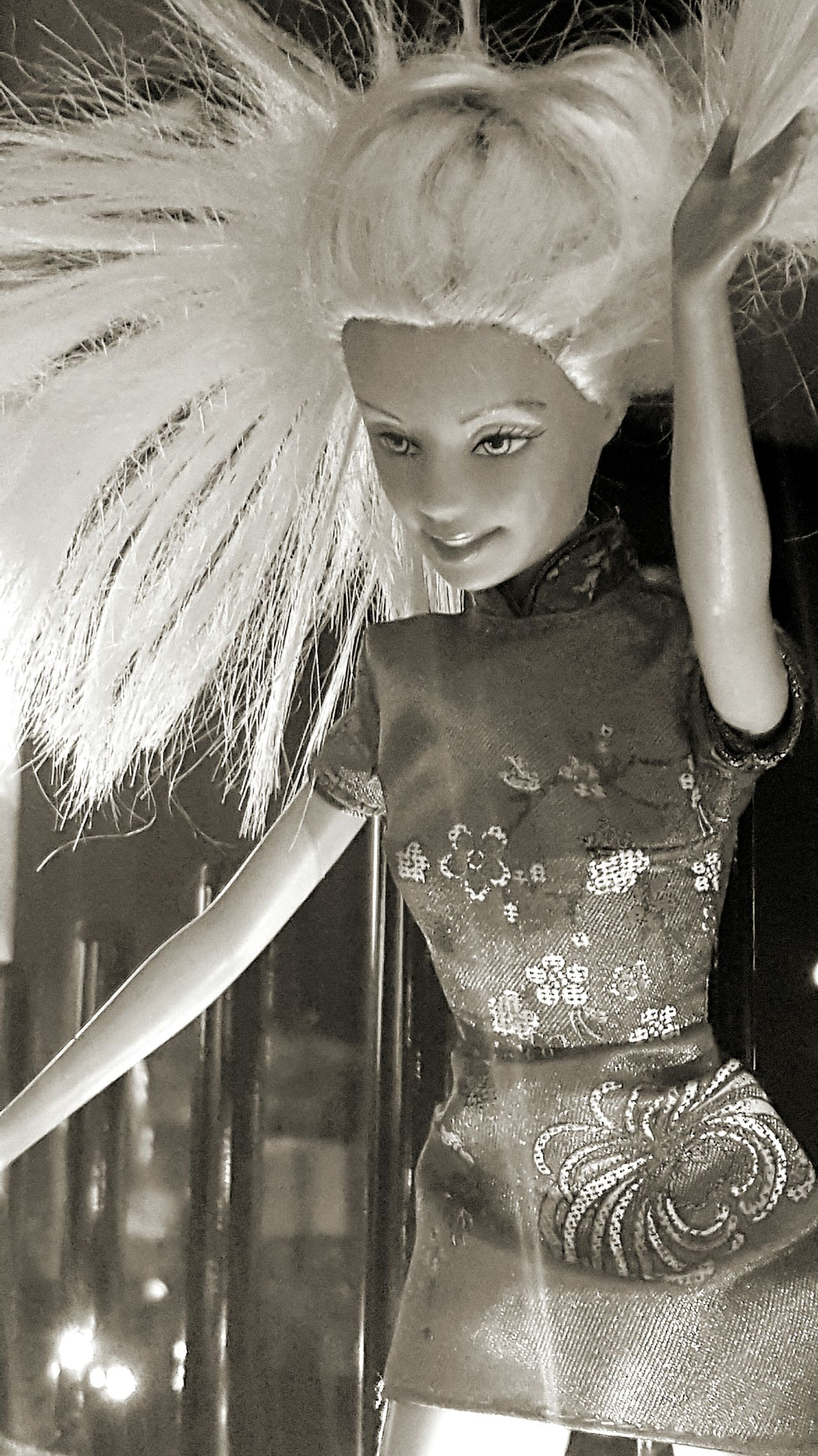 Disco Barbie Barbie World Barbiedoll Black And White Photography Doll Photography