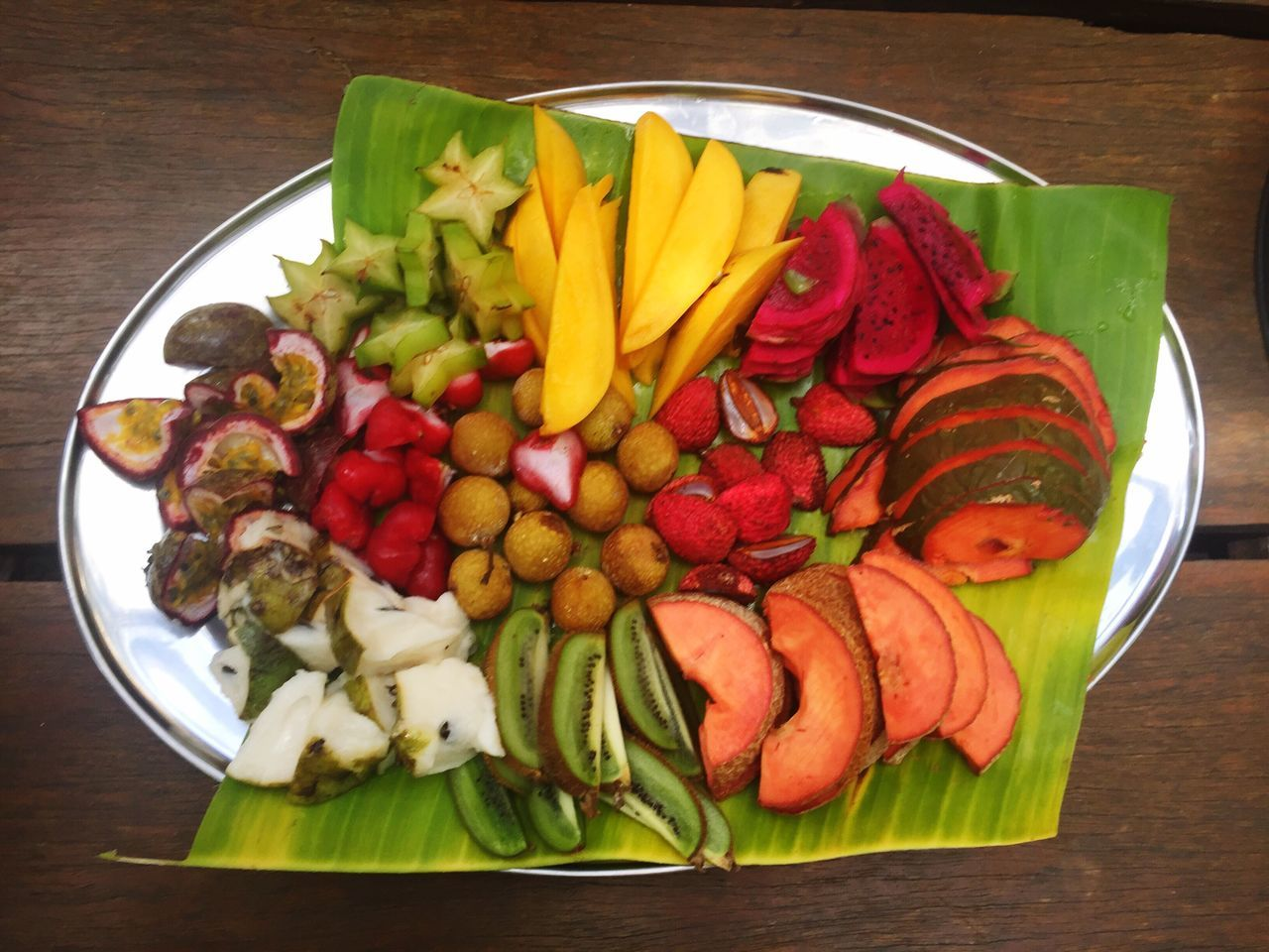 Fruit Food Freshness Ready-to-eat Table Healthy Eating Close-up Food And Drink Plate No People Vegetable Indoors  High Angle View Directly Above Day