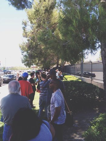 This line was crazy today FastAndFurious7 Opencasting
